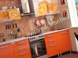 Гарнитур для кухни Апельсин с фотопечатью